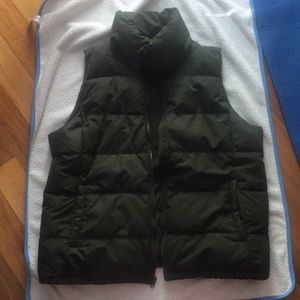 Olive Green puffer best